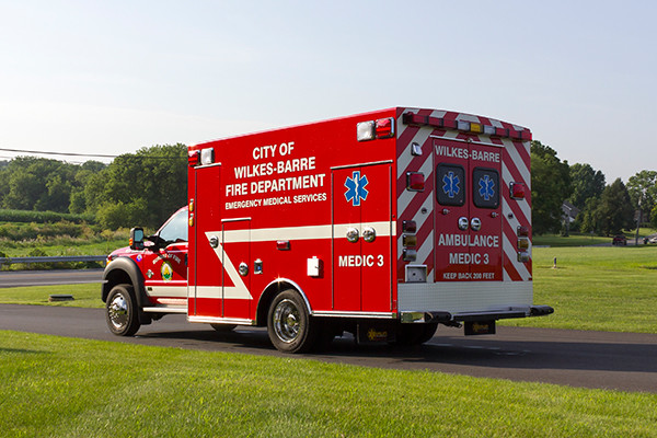 new 2016 Braun Liberty Type I ambulance - driver rear