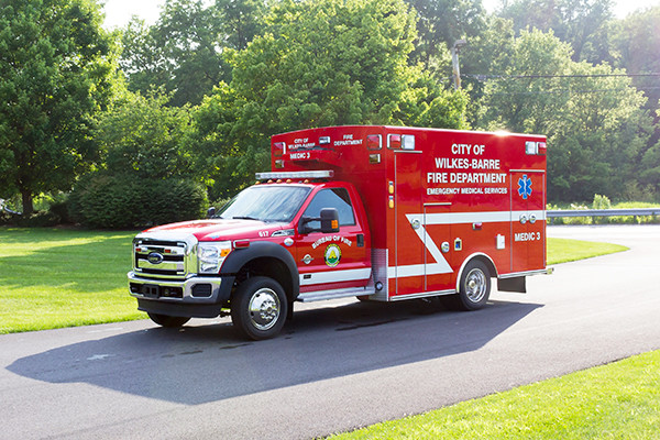 new 2016 Braun Liberty Type I ambulance - driver front