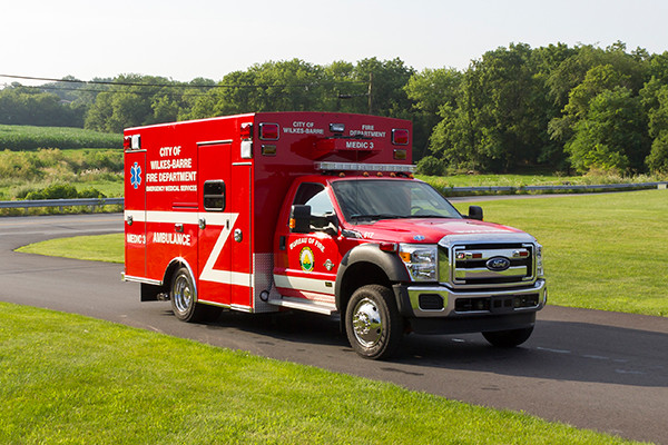 new 2016 Braun Liberty Type I ambulance - passenger front