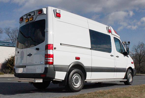 new 2016 Demers EXE Type II ambulance - Mercedes Sprinter ambulance - passenger rear