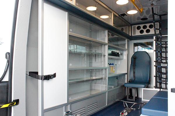 new 2016 Demers EXE Type II ambulance - Mercedes Sprinter ambulance - module driver side