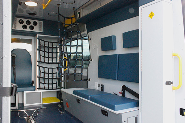 new 2016 Demers EXE Type II ambulance - Mercedes Sprinter ambulance - module passenger side