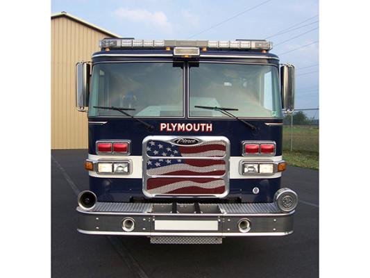 Pierce Arrow XT - new pumper fire engine - front