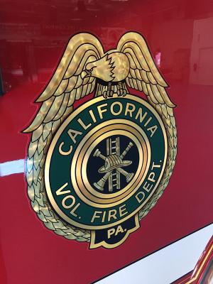 2016 Pierce Enforcer pumper - fire engine - emblem