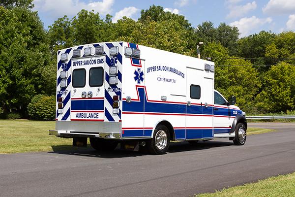 2016 Braun Chief XL - Type I ambulance - passenger rear