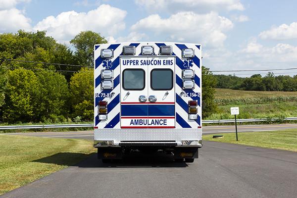 2016 Braun Chief XL - Type I ambulance - rear