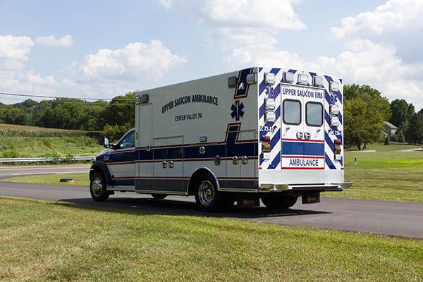 2016 Braun Chief XL - Type I ambulance - driver rear