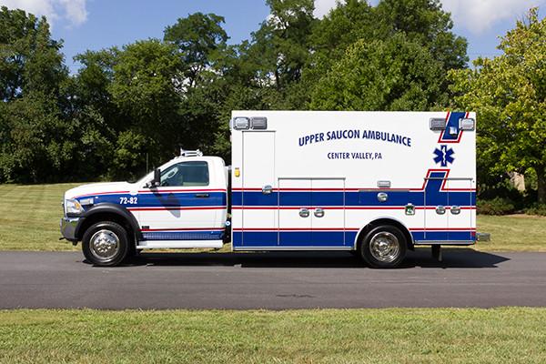 2016 Braun Chief XL - Type I ambulance - driver side