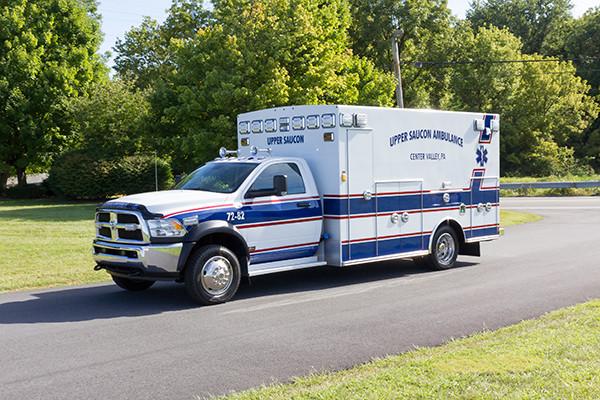 2016 Braun Chief XL - Type I ambulance - driver front
