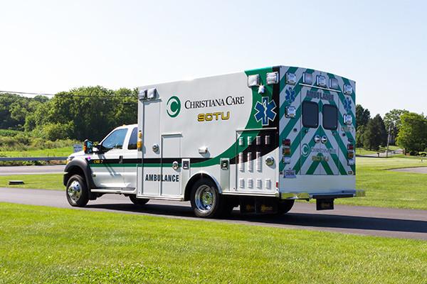 2016 Braun Liberty - custom Type I ambulance - driver rear