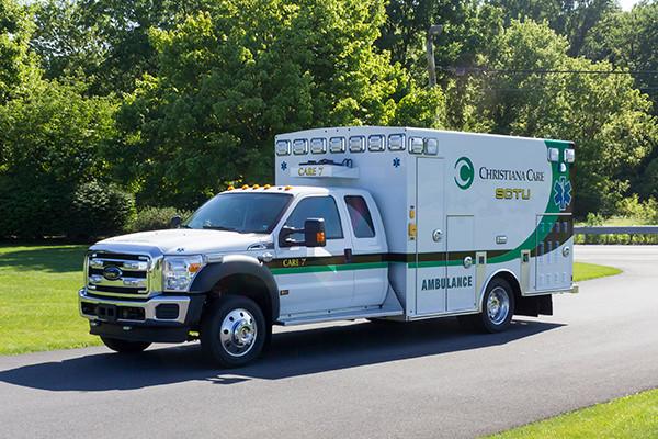 2016 Braun Liberty - custom Type I ambulance - driver front