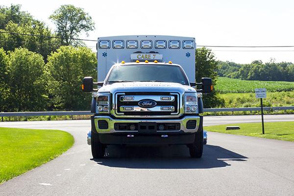 2016 Braun Liberty - custom Type I ambulance - front