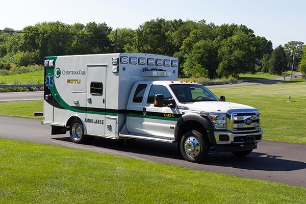 2016 Braun Liberty - Type I ambulance - passenger front