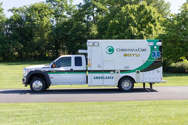 2016 Braun Liberty - custom Type I ambulance - driver side