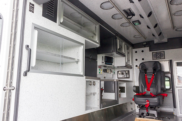 2016 Braun Liberty - Type I ambulance - module interior driver side