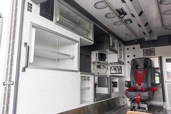 2016 Braun Liberty - custom Type I ambulance - module interior driver side