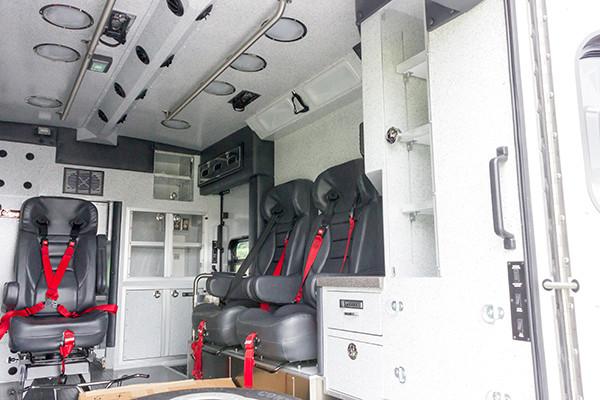 2016 Braun Liberty - custom Type I ambulance - module interior passenger side