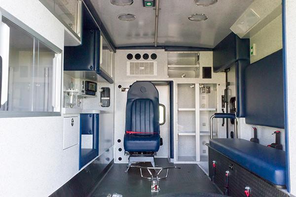 2016 Braun Express Plus - Type I ambulance - module view