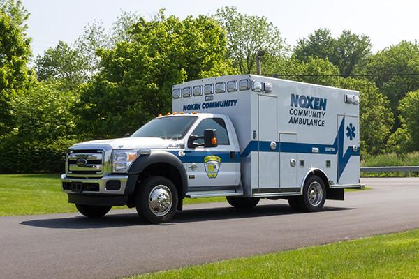 2016 Braun Express Plus - Type I ambulance - driver front