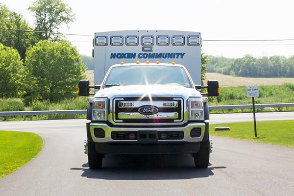 2016 Braun Express Plus - Type I ambulance - front