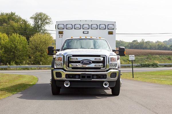 2016 Braun Chief XL - Type I ambulance - front