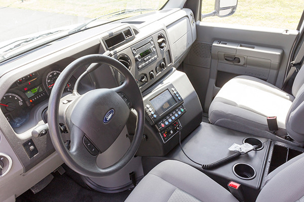 new 2016 Braun Signature Series Type III ambulance - cab interior