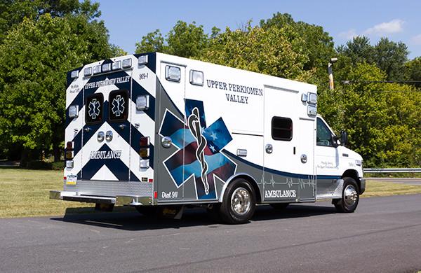 new 2016 Braun Signature Series Type III ambulance - passenger rear