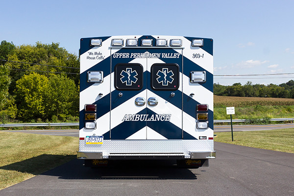 new 2016 Braun Signature Series Type III ambulance - rear