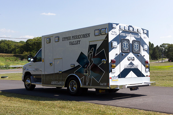 new 2016 Braun Signature Series Type III ambulance - driver rear