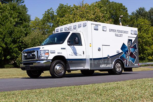 new 2016 Braun Signature Series Type III ambulance - driver front