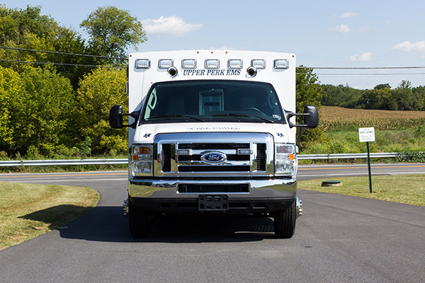 new 2016 Braun Signature Series Type III ambulance - front