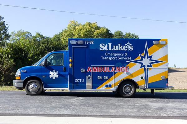 2016 Braun custom ambulance - Chief XL Type III ambulance - driver side