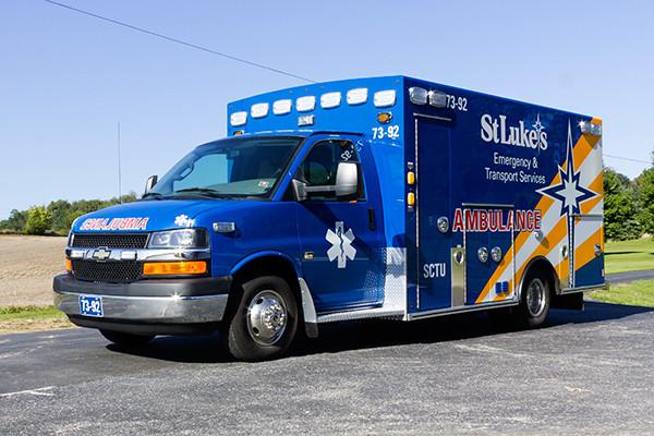 2016 Braun custom ambulance - Chief XL Type III ambulance - driver front