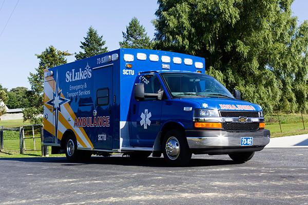 2016 Braun custom ambulance - Chief XL Type III ambulance - passenger front
