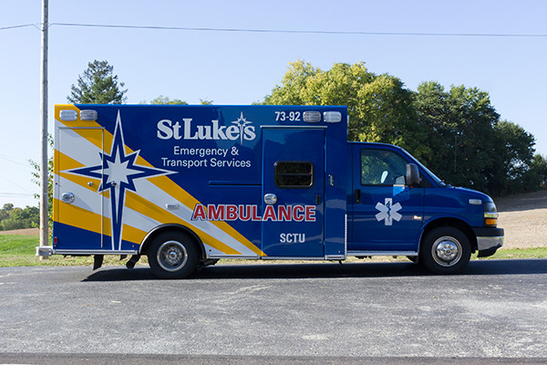 2016 Braun custom ambulance - Chief XL Type III ambulance - passenger side