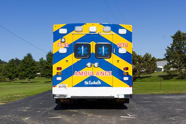 2016 Braun custom ambulance - Chief XL Type III ambulance - rear