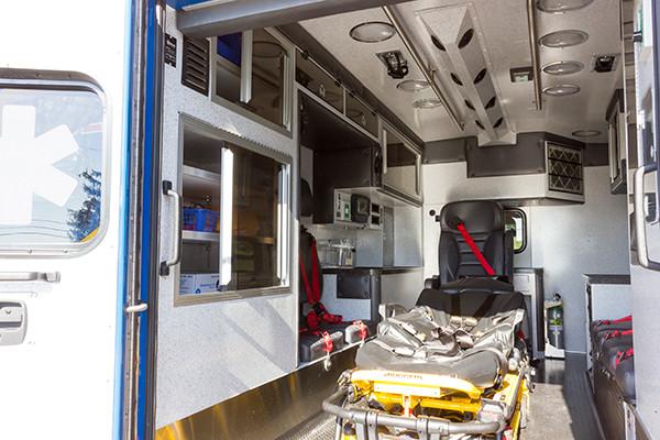 2016 Braun custom ambulance - Chief XL Type III ambulance - module interior driver side