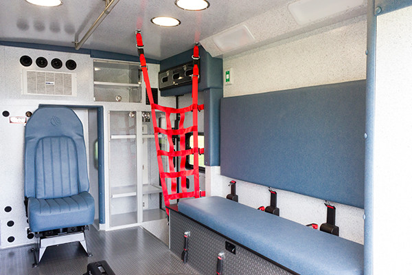 2016 Braun Express Plus - Type I ambulance - module interior passenger side