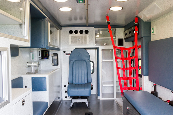 2016 Braun Express Plus - Type I ambulance - module interior overall