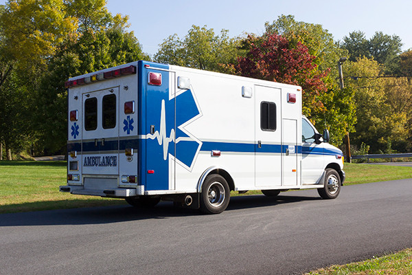 used ambulance for sale - 2007 PL Custom Type III ambulance - passenger rear