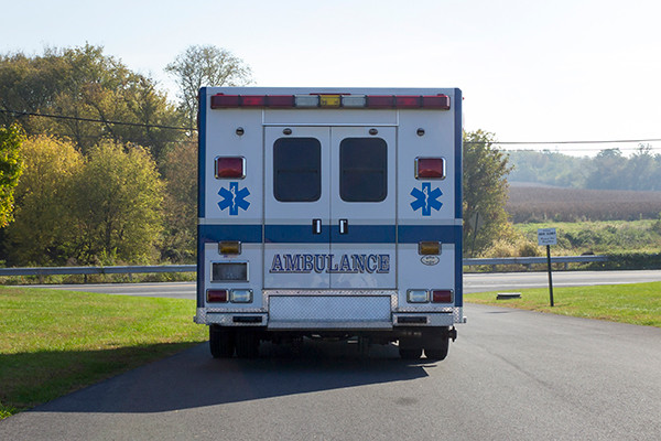 used ambulance for sale - 2007 PL Custom Type III ambulance - rear
