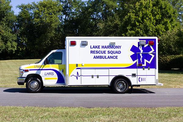 2016 ambulance remount - Type III ambulance - driver side