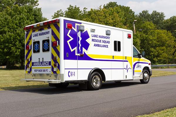 2016 ambulance remount - Type III ambulance - passenger rear