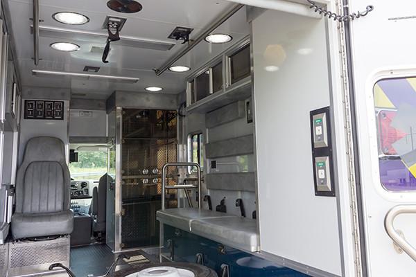 2016 ambulance remount - Type III ambulance - module interior passenger side