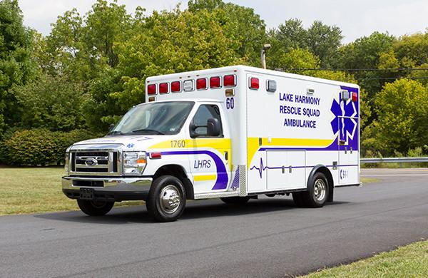 2016 ambulance remount - Type III ambulance - driver front