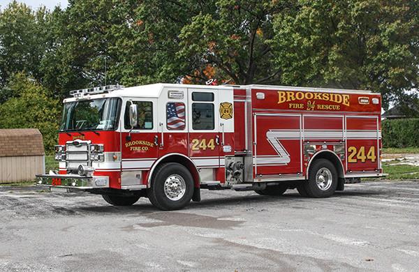 2016 Pierce Enforcer - PUC rescue pumper fire engine - driver front
