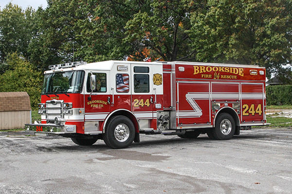 2016 Pierce Enforcer - PUC rescue pumper fire engine - driver front