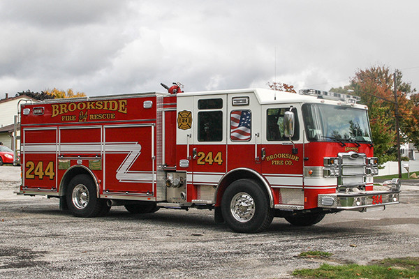 2016 Pierce Enforcer - PUC rescue pumper fire engine - passenger front