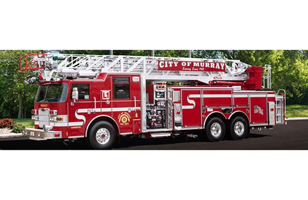 100' Heavy Duty Aluminum Aerial Ladder Truck