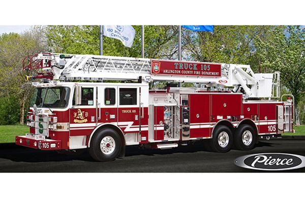 100' Steel Aerial Ladder Truck